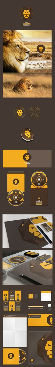 라이온 로고 [디자인 : 디자인 포트폴리오] KMUG