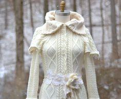 Fantasy art to wear sweater COAT Eco friendly up by amberstudios