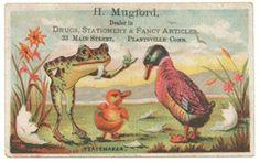 Pharmacists Trade Card