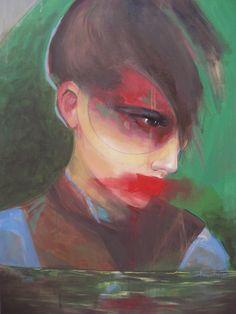Giorgos Chatziagorou, Woman's head on ArtStack #giorgos-chatziagorou #art