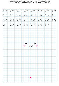 Preschool Writing, Preschool Worksheets, Preschool Learning, Educational Activities, Preschool Activities, Teaching Kids, Graph Paper Drawings, Art Drawings For Kids, Graph Paper Art