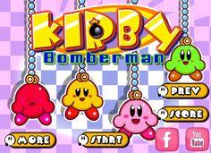 Bonito juego de Kirby donde en este juego de Bomberman tendrás que ayudar a colocar la dinamita y así hacer desaparecer a tus contrarios, gana este juego, también podrás encontrar bonus que te ayudaran en este bonito juego.