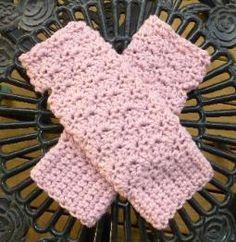 free pattern. Mrs D Crochets fingerless gloves