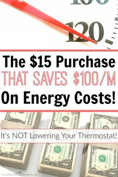 She beat high energy costs using a $15 purchase! She seriously cut her energy bill IN HALF this way! I can't wait to do this in my house too! Easy ways to save on energy bills. Simple ways to save electricity. How to heat your home on a budget. How to cool your home on a budget.
