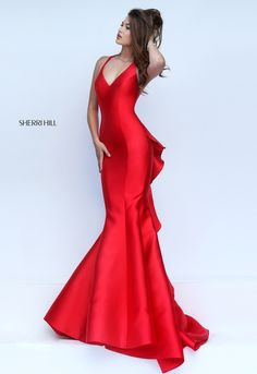 Sherri Hill Prom 2016 Dress #50195: BASICALLY THE EXACT RED DRESS FROM MOULIN ROUGE!!!