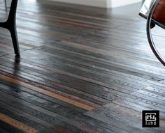 Beautiful floor tiles made from 2nd hand leather belts. http://www.tinglondon.com
