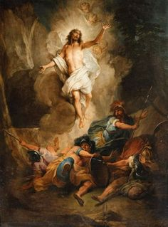 Photograph - Remastered Art The Resurrection Of Jesus By Nicolas Bertin 20190928 by Wingsdomain Art and Photography , Catholic Religion, Catholic Art, Religious Art, Jesus Our Savior, Jesus Is Risen, Jesus Facts, Jesus Christ Painting, Bible Images, Christ The King