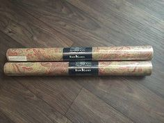 RALPH LAUREN Victoria Falls Paisley From HTF Africa Collection ~ 2 Double Rolls