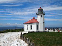 Alki Point Lighthouse, Seattle, WA