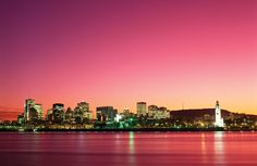 Montreal Skyline, Québec, Canada