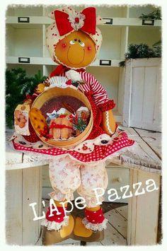 Christmas Gingerbread Men, Gingerbread Ornaments, Gingerbread Decorations, Felt Christmas Ornaments, Xmas Decorations, Christmas Arts And Crafts, Christmas Projects, All Things Christmas, Christmas Time