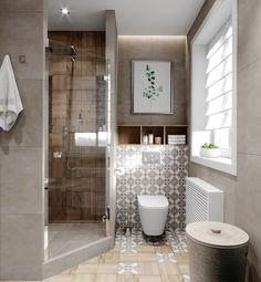 Amazing DIY Bathroom Ideas, Bathroom Decor, Bathroom Remodel and Bathroom Projects to help inspire your bathroom dreams and goals. Small Bathroom Layout, Modern Bathroom Design, Bathroom Interior Design, Bathroom Designs, Contemporary Small Bathrooms, Shower Designs, Modern Bathrooms, Bad Inspiration, Bathroom Inspiration