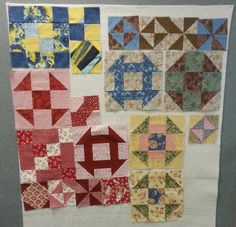 It had been a month since our first quilting class, so the first order of business, when we gathered together in the break room for our second class, was to ooh and aah over all the Stepping Stones, Bow Tie, Snowball and Flying Geese blocks that had been made since we last got together. Keepsake Quilting, Flying Geese, Break Room, New Crafts, Source Of Inspiration, Stores, Paper Piecing, Scrap, Things To Come
