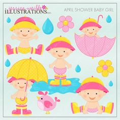 April Shower Baby Girl