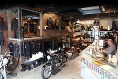 Vintage Motorcycle Shop Maybe i am wrong but why is it