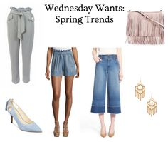 Must Try Fashion Trends for Spring!  Come Check out which trends are easily to style as a young professional!