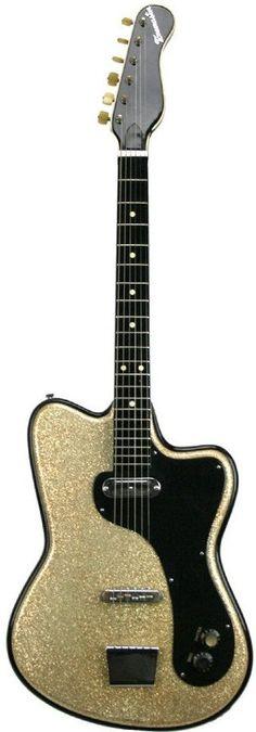 Italian made 1962 Tonemaster model 10 Guitar. (Im a sucker for sparkly Guitars) --- https://www.pinterest.com/lardyfatboy/