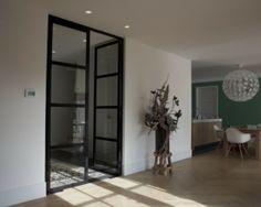 Dubbele deuren naar de woonkamer