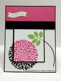 Betsy's Blossoms, Itty Bitty Banners, Stampin' Up!