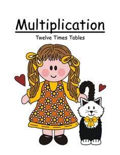 Center Game ~ Multiplication Twelve (12) Times Tables ~ 52 Pages!  $