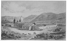 Image detail for -... Drawings of Mission Carmel | California Missions Resource Center