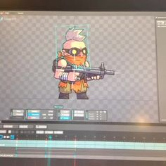Spine animating is the best.