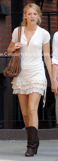 Young Fabulous & Broke Rara Dress worn by Blake Lively on Gossip Girl