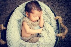 Baby Knitted Overalls With Pocket - Infant Knitted Overalls With...