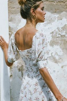 Cute Dresses, Cute Outfits, Bohemian Summer, Sabo Skirt, Sexy Hot Girls, Formal Wear, Floral Prints, My Style, Pretty