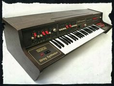 ARP Solina String Synthesizer (1975) #1970s #vintage #synth #synthesizer #retro