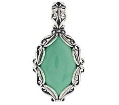 Carolyn Pollack Utah Variscite Sterling Enhancer #SummerBrights