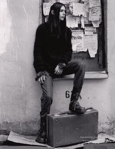 AnOther Man A/W06 Photographed by Mark Segal, styled by Alister Mackie
