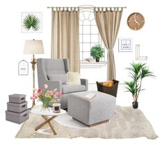 """""""*1 This Would Be My Fav Place In The World"""" by itsmee-lisa on Polyvore featuring interior, interiors, interior design, Zuhause, home decor, interior decorating, AERIN, Gus* Modern, Pottery Barn und NDI"""