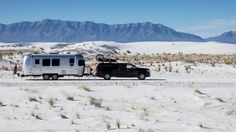 The Downside of Life on the Road? Celebrating the New Year a Week Late. via Outside Magazine Airstream, Camping Survival, Survival Stuff, Outside Magazine, The Dunes, Hot Springs, Recreational Vehicles, The Help, Skiing