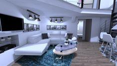 Modélisation 3D d'un intérieur atypique destiné à la vente à Montpellier