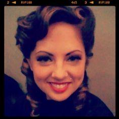 Vintage hair!