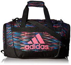 Amazon.com: adidas 104385 Defender II Small Duffel Bag, One Size, Black Twister/Black/Shock Pink: Sports & Outdoors