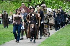 A curated collection of steampunk and dieselpunk fashion to bring out your unique style. Male Steampunk, Steampunk Gears, Steampunk Costume, Steampunk Clothing, Steampunk Fashion, Victorian Fashion, Steampunk Festival, Charles River, Make Art