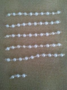 How to make a rosary necklace. Rosary Beads - Step 3