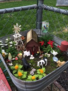 Kids Fairy Garden, Fairy Garden Houses, Gnome Garden, Garden Crafts, Garden Projects, Miniature Fairy Gardens, Yard Art, Amazing Gardens, Cactus