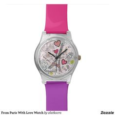 From Paris With Love Watch. Regalos, Gifts. #reloj #watch #DiaDeLasMadres #MothersDay
