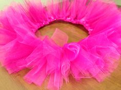 Pink glitter tutu by @PrissiePants on Etsy