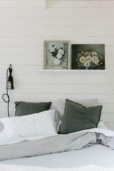 My dream holiday home (and garden bedroom)! Photo - Marnie Hawson. Interior design: Lynda Gardener. The White House Daylesford.
