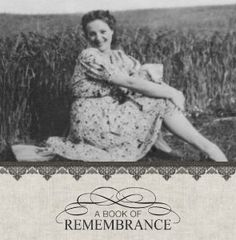 Mixbook A Book of Remembrance Family Photo Books