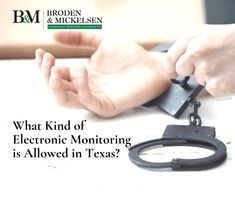 Texas courts can order two types of electronic monitoring of defendants. Criminal Law, Criminal Defense, Teresa May, Global Positioning System, Texas Law, Harris County, Court Order, Ankle Bracelets, Medical