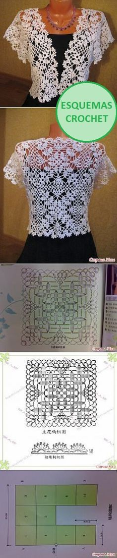 detalle de Blusa crochet-9