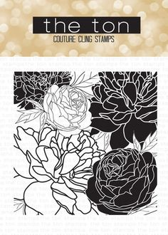 Peony Garden Cling Background – The Ton
