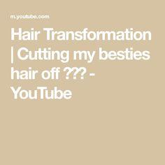 Hair Transformation   Cutting my besties hair off 🙈🙉🙊 - YouTube Schwarzkopf Professional, Hair Colour, Color, Bleached Hair, Hair Transformation, Besties, Blonde Hair, Hair Cuts, Youtube