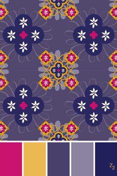 ZJ Colour Palette 492 #colourpalette #colourinspiration