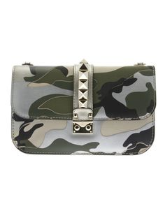-40% Valentino Lock Medium Flap Bag - Italist Selection - Shop on italist.com, best of Italian boutiques